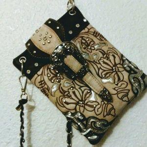 Handbags - Beautiful Crossbody Tooled Purse